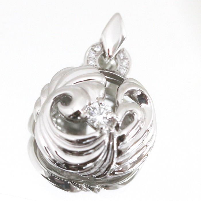 株式会社サハダイヤモンド 株主様ご優待 新作ジュエリー!ロシア産 バージンダイヤモンド使用 ペンダントトップ 0.255カラット/カラー G/クラリティ VVS1/カット EXCELLENT H&C  通常価格319,000円から20%OFF