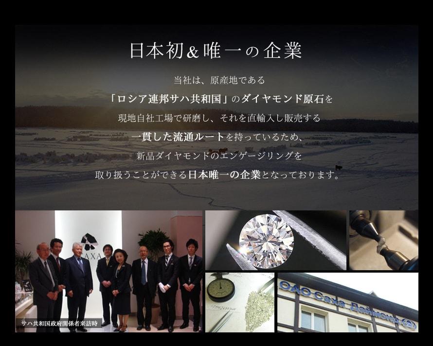 日本初唯一の企業 ロシア連邦サハ共和国から一貫した流通ルートを持つ日本唯一の企業